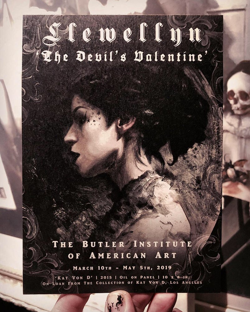 Image of 'THE DEVIL'S VALENTINE' - Private Meet-the-Artist Exhibition Preview