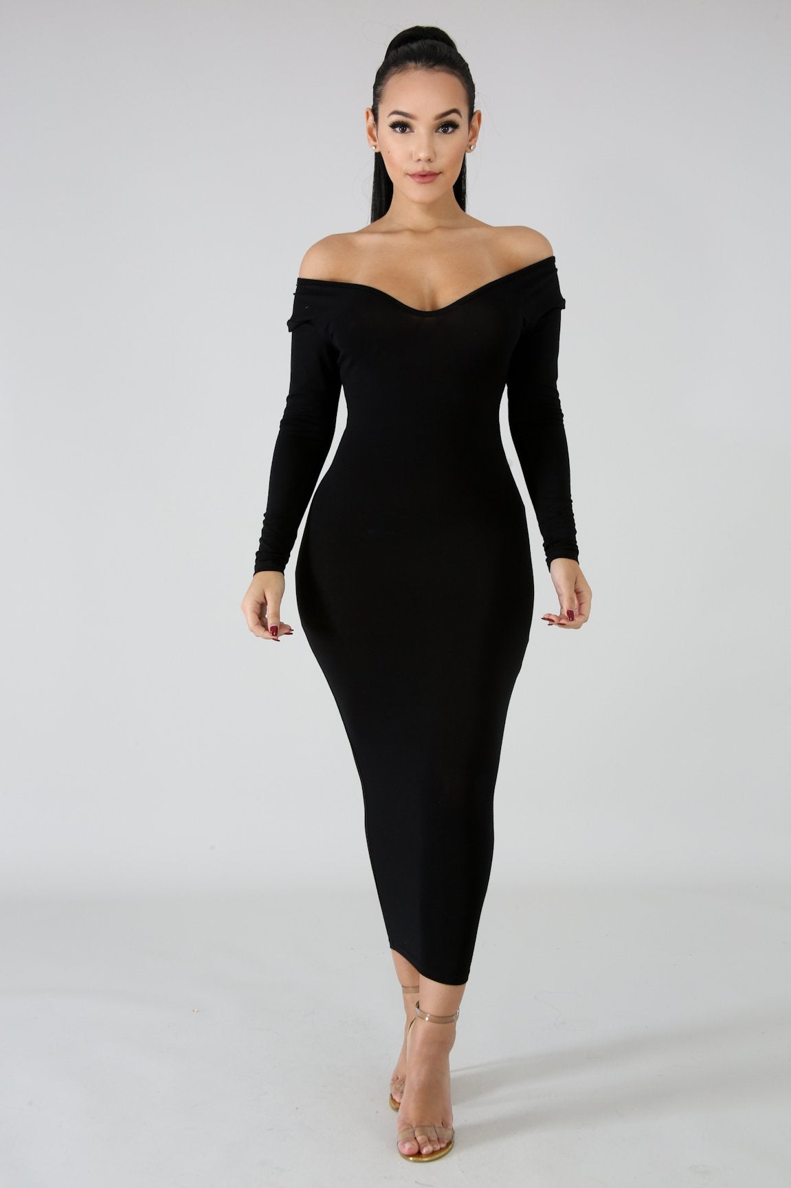 Image of Classic Midi Dress