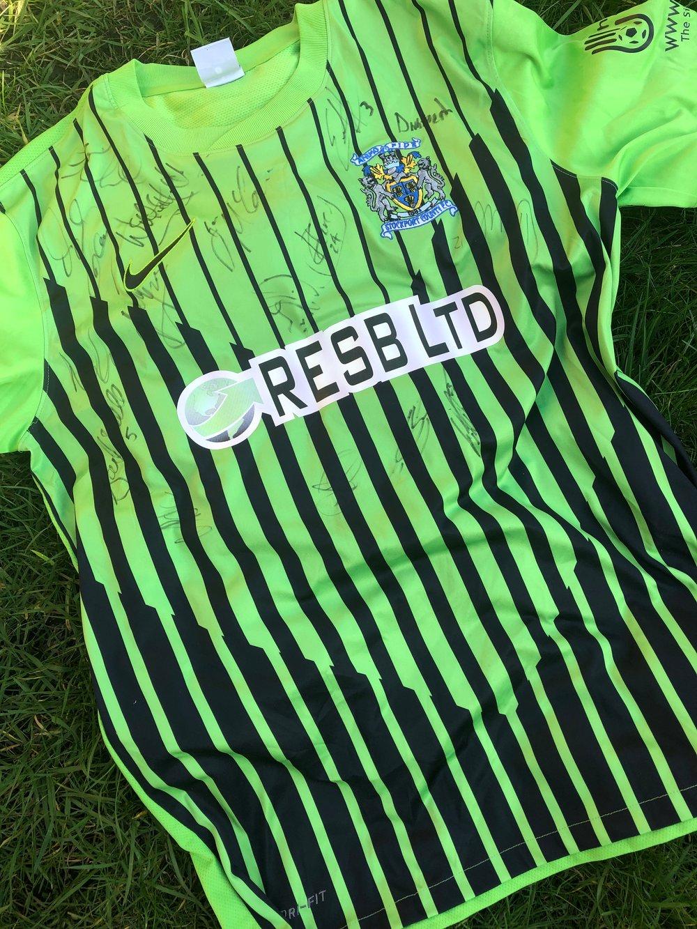 Image of Match worn 2011/12 Nike pre-season home shirt