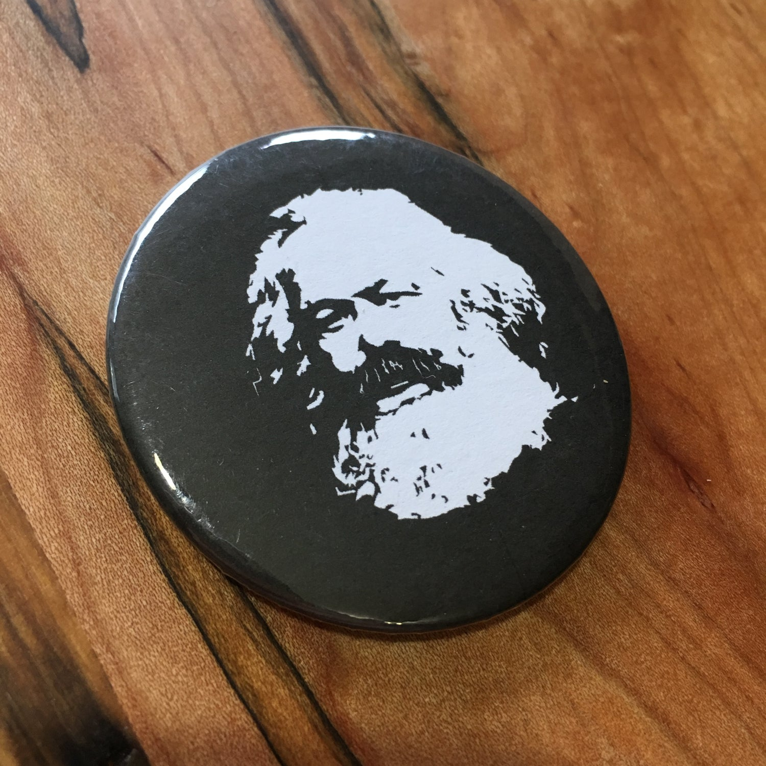 "Image of Marx 2.5"" Button"