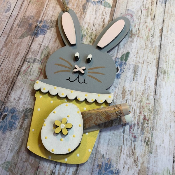 Image of Easter Bunny Magic Money Holder