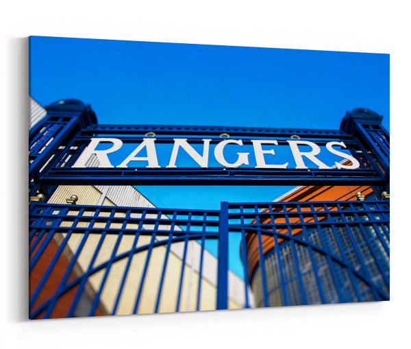 Image of The Famous Ibrox Stadium Gates
