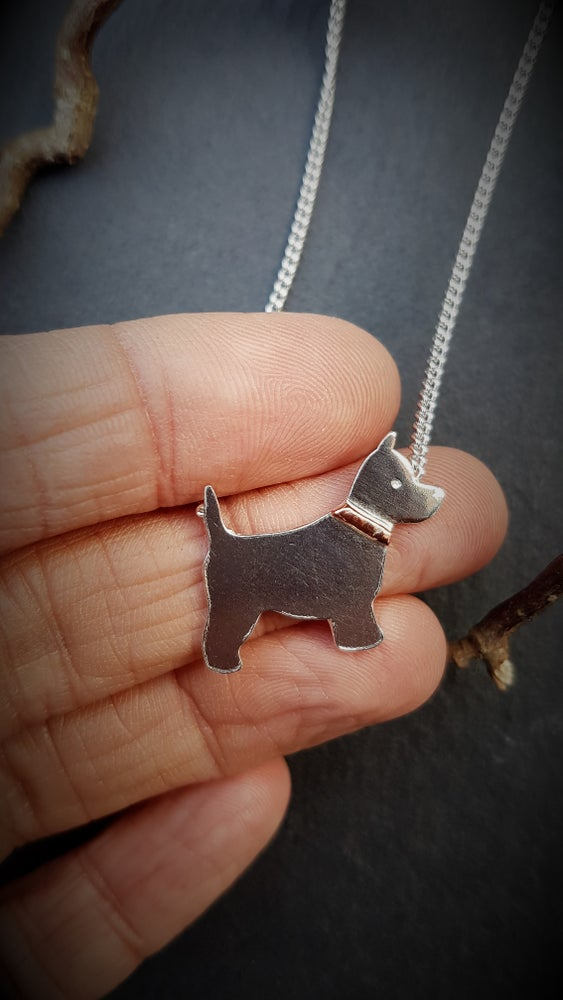 Image of Westie Necklace