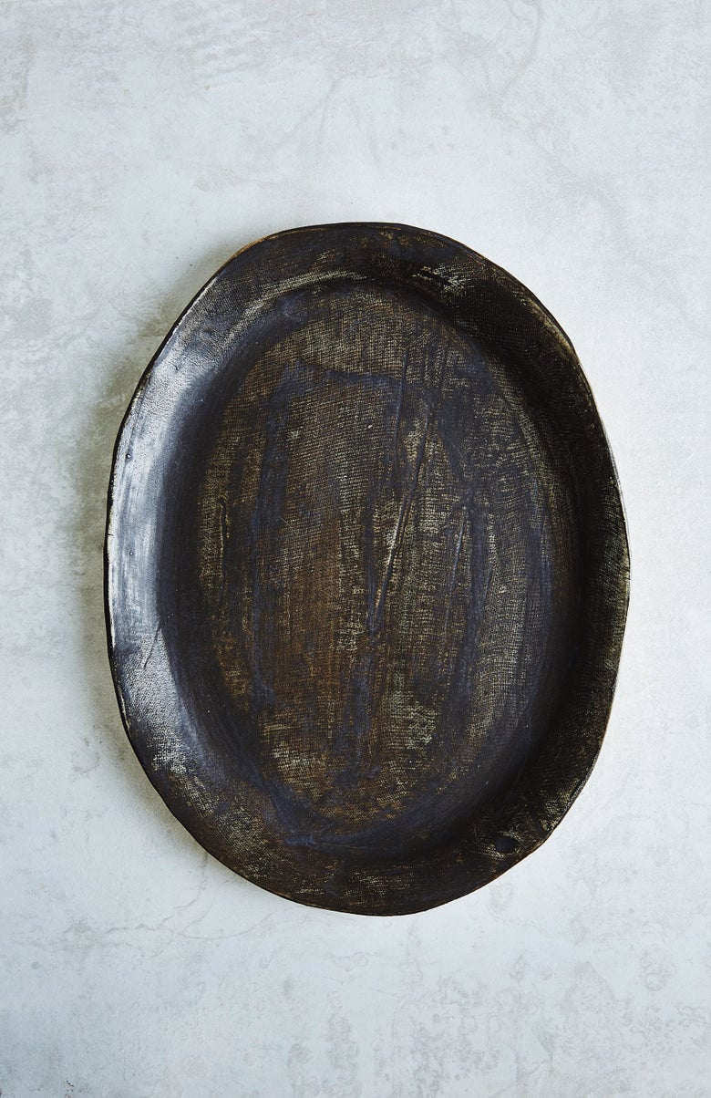 Image of Large Iron Platter (back-order)