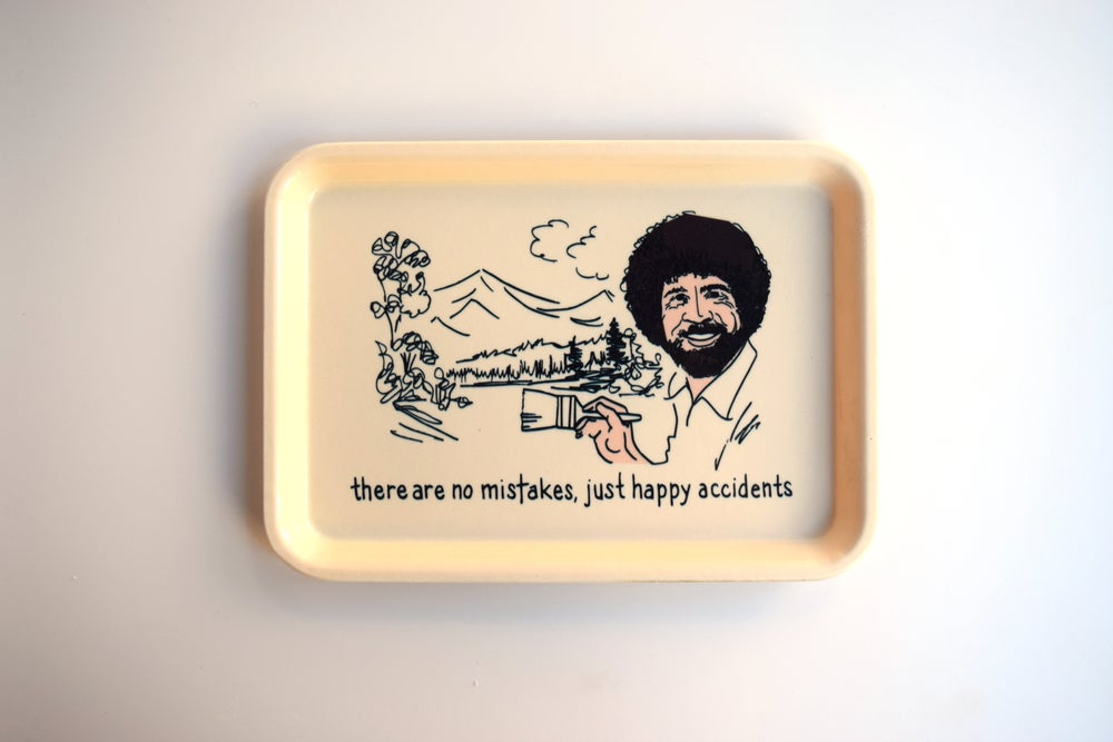 Image of bob ross tray