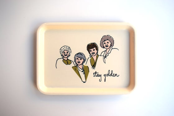 Image of golden girls tray