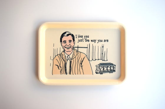 Image of mr rogers tray