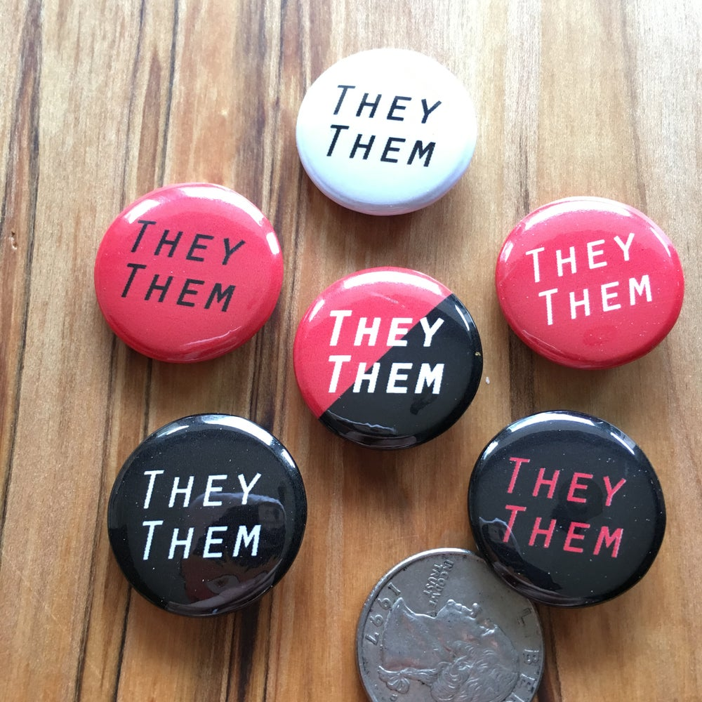 Image of Pronoun Pins