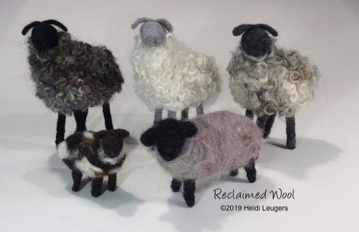 Image of Needle Felted Sheep Workshop