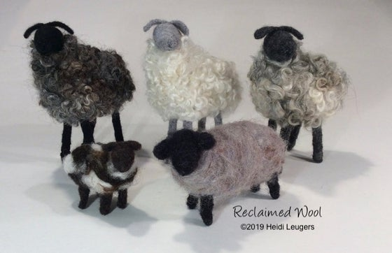 Image of Needle Felted Sheep Workshop