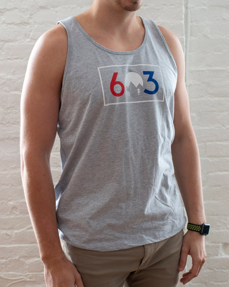Image of Unisex 603 R/W/B Tank Top