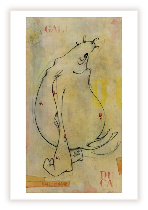 Image of Galleggiare ED. GICLÈES - 30x15cm