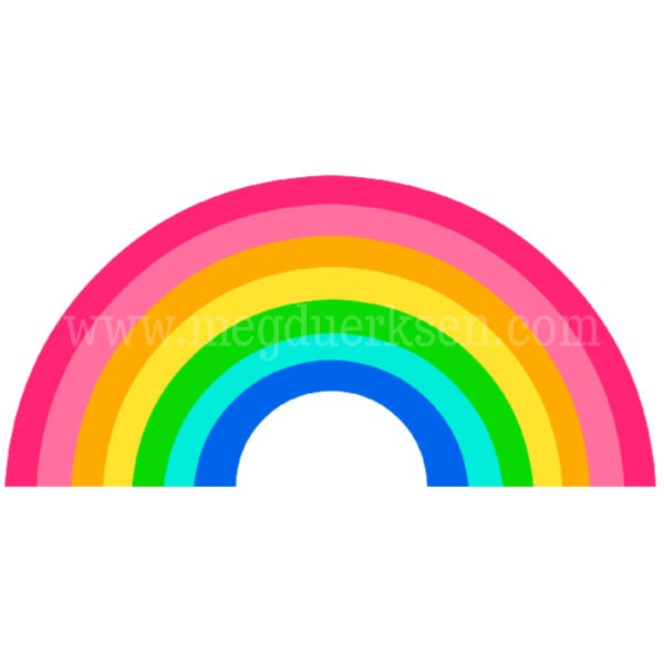 Image of Pink Rainbow Mug