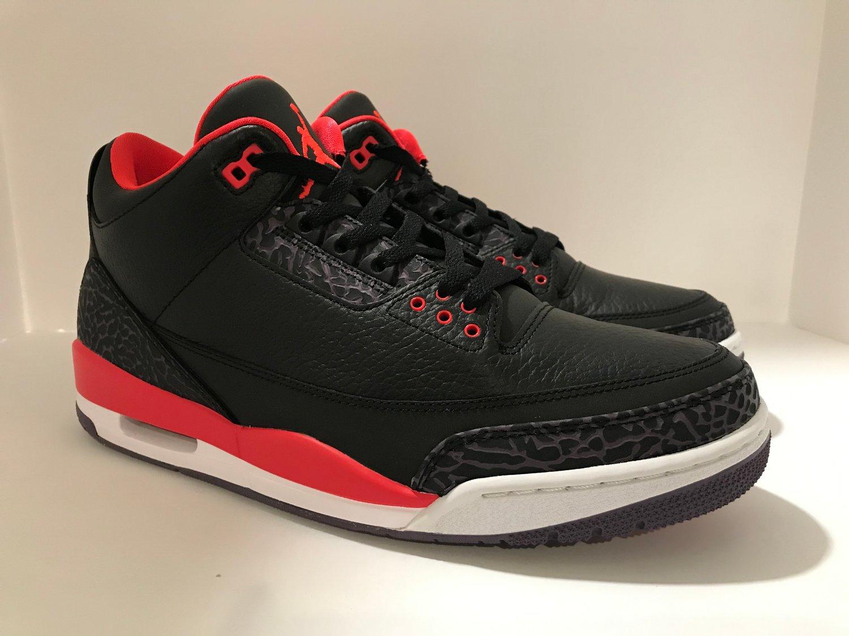 "new concept e30a8 53d32 Image of Air Jordan 3 Retro ""Crimson"" (SZ 11.5)"