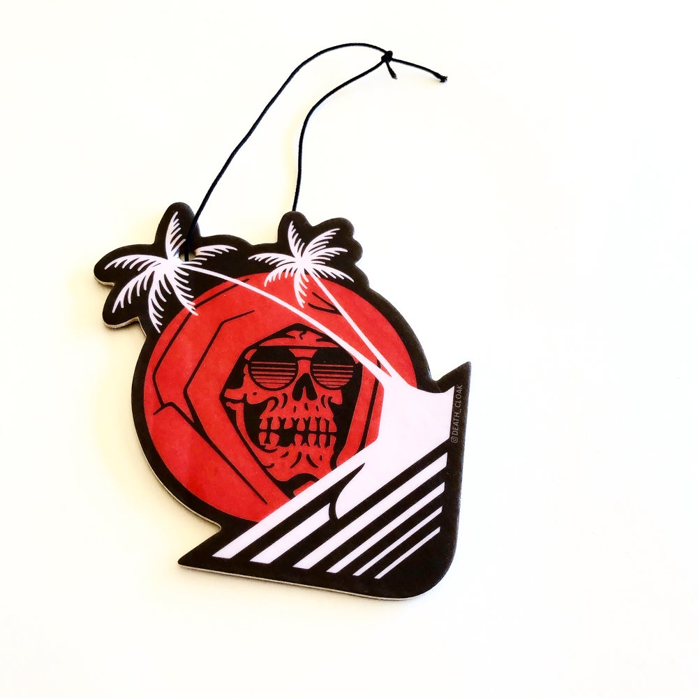 Image of DEATH IN PARADISE AIR FRESHENER