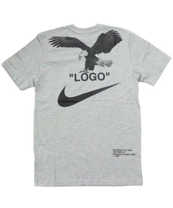 Image of Nike x Off White NRG A6 Tee - Heather Grey - Size Large