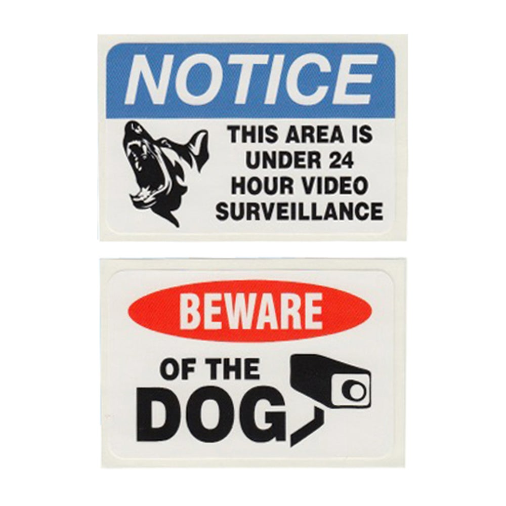 Image of NOTICE/BEWARE STICKER PACK