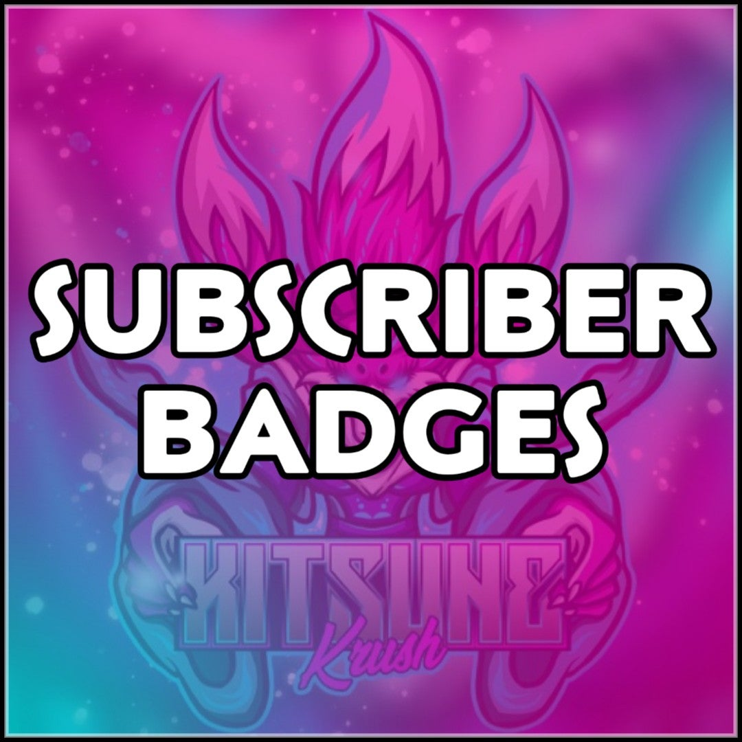 Image of Twitch Subscriber Badges