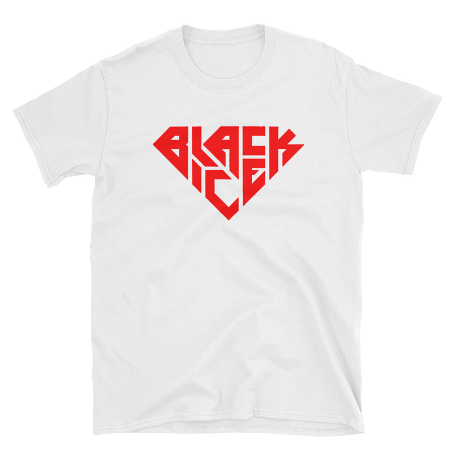 Image of Black Ice Red Diamond T-Shirt (Unisex)