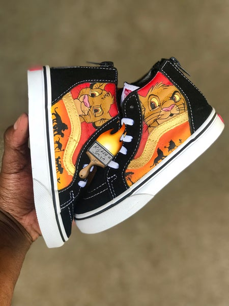 Image of Lion king Simba Vans -