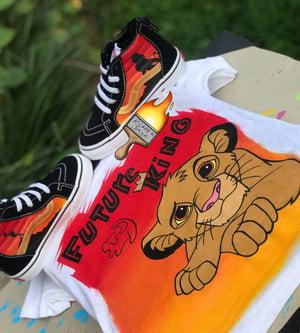 Image of Lion king Simba Vans -