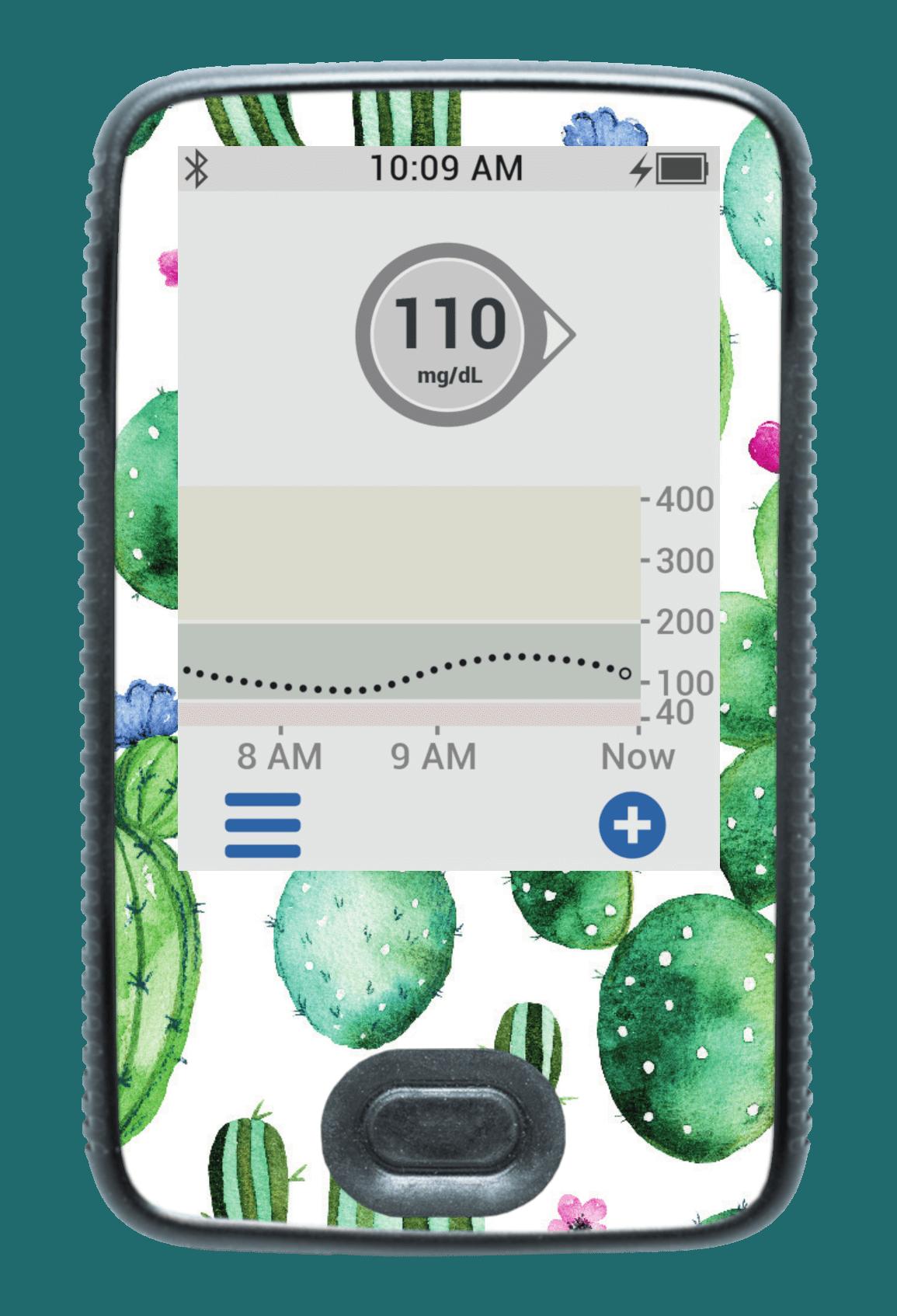 Image of Cactus Dexcom G6 Receiver Screen Protector