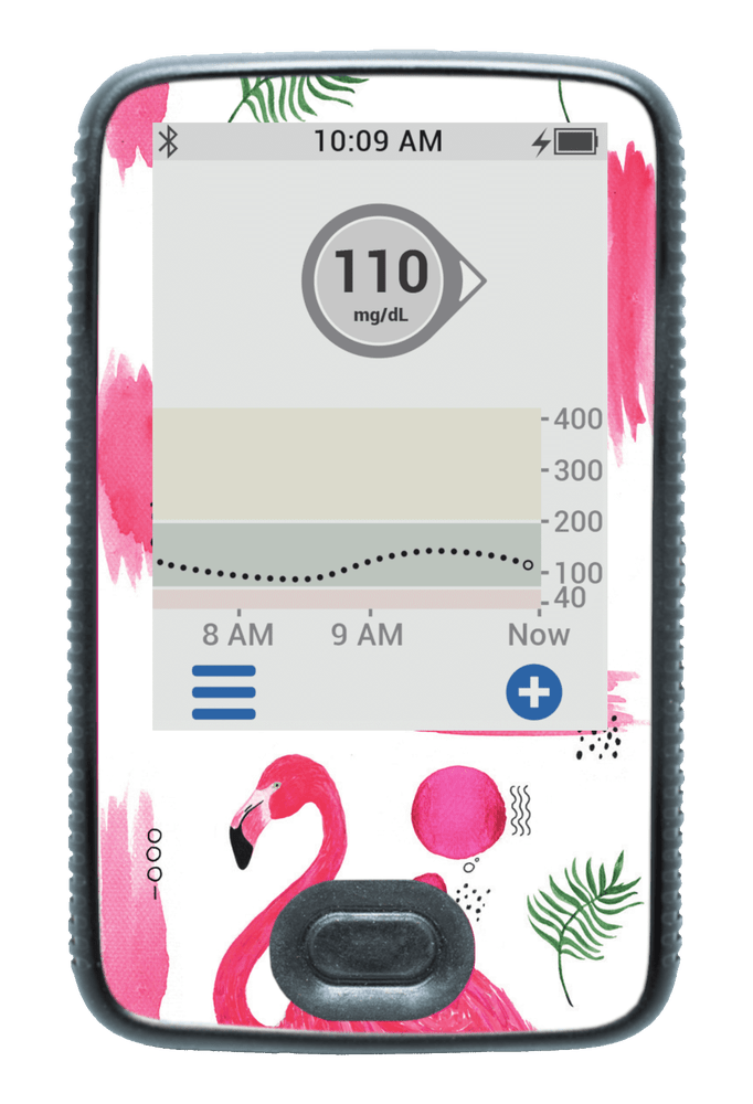 Image of Flamingo Dexcom G6 Receiver Screen Protector