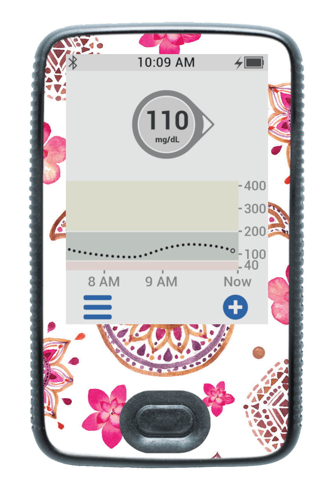 Image of Flower Power Dexcom G6 Receiver Screen Protector