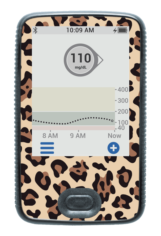 Image of Leopard Dexcom G6 Receiver Screen Protector