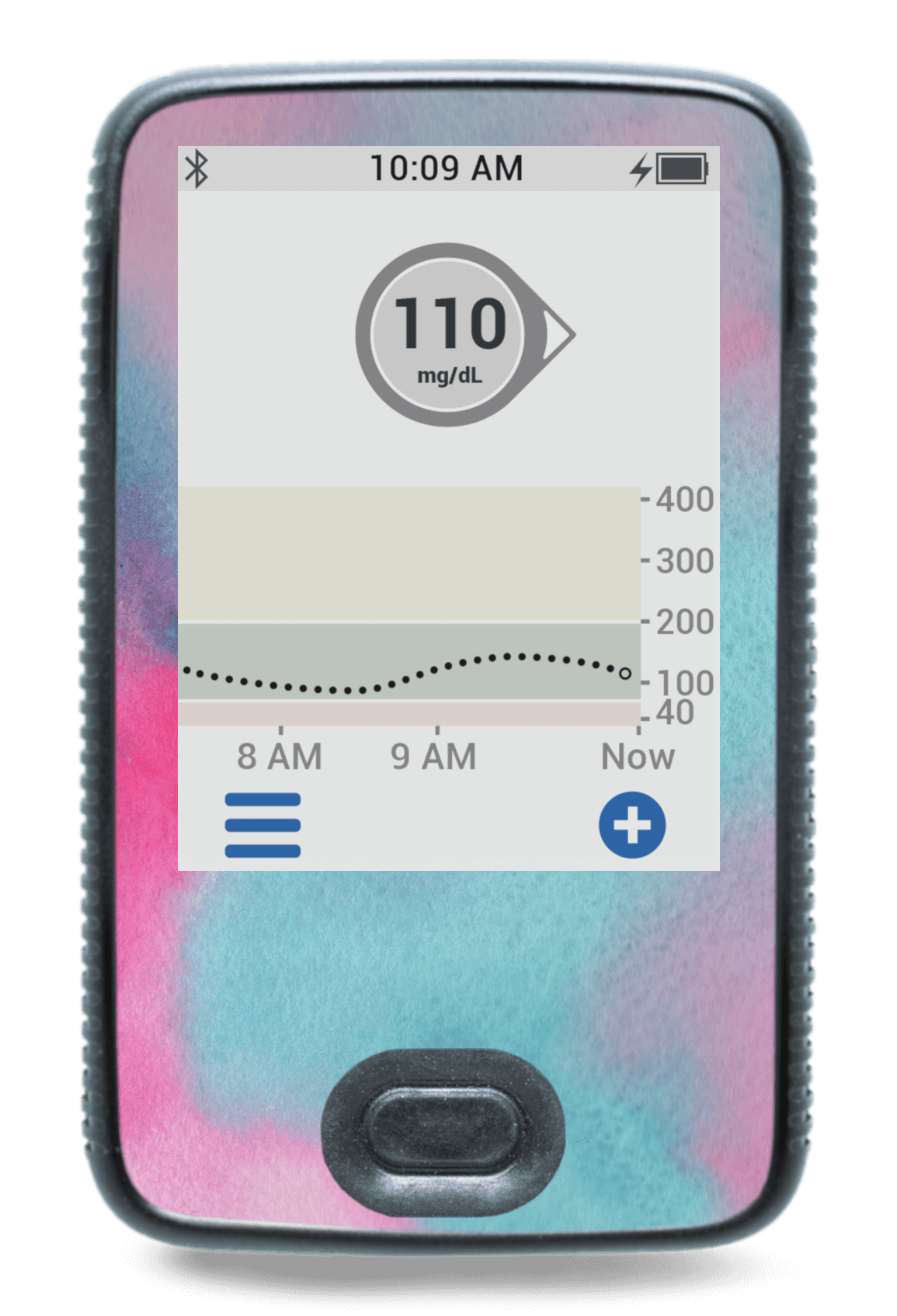 Image of Watercolor Dexcom G6 Receiver Screen Protector