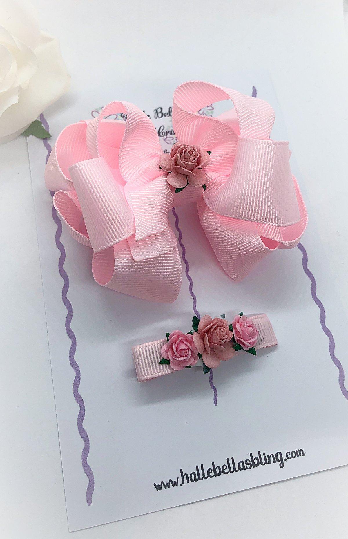 Image of Pink Posey Rosey set