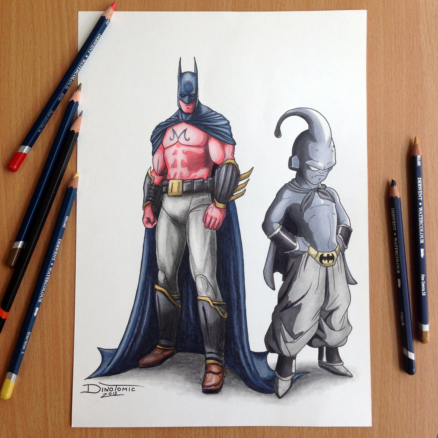 Image of #41 Batman & Majin Boo Switch