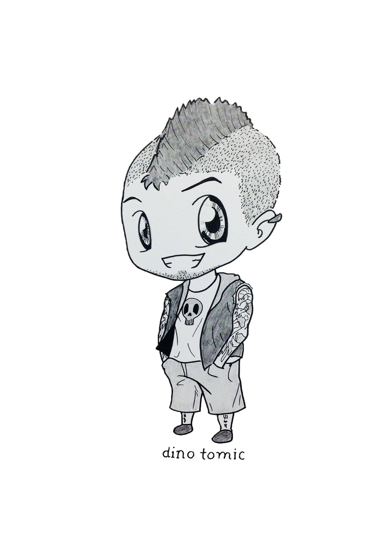 Image of #45 Chibi Dino Tomic