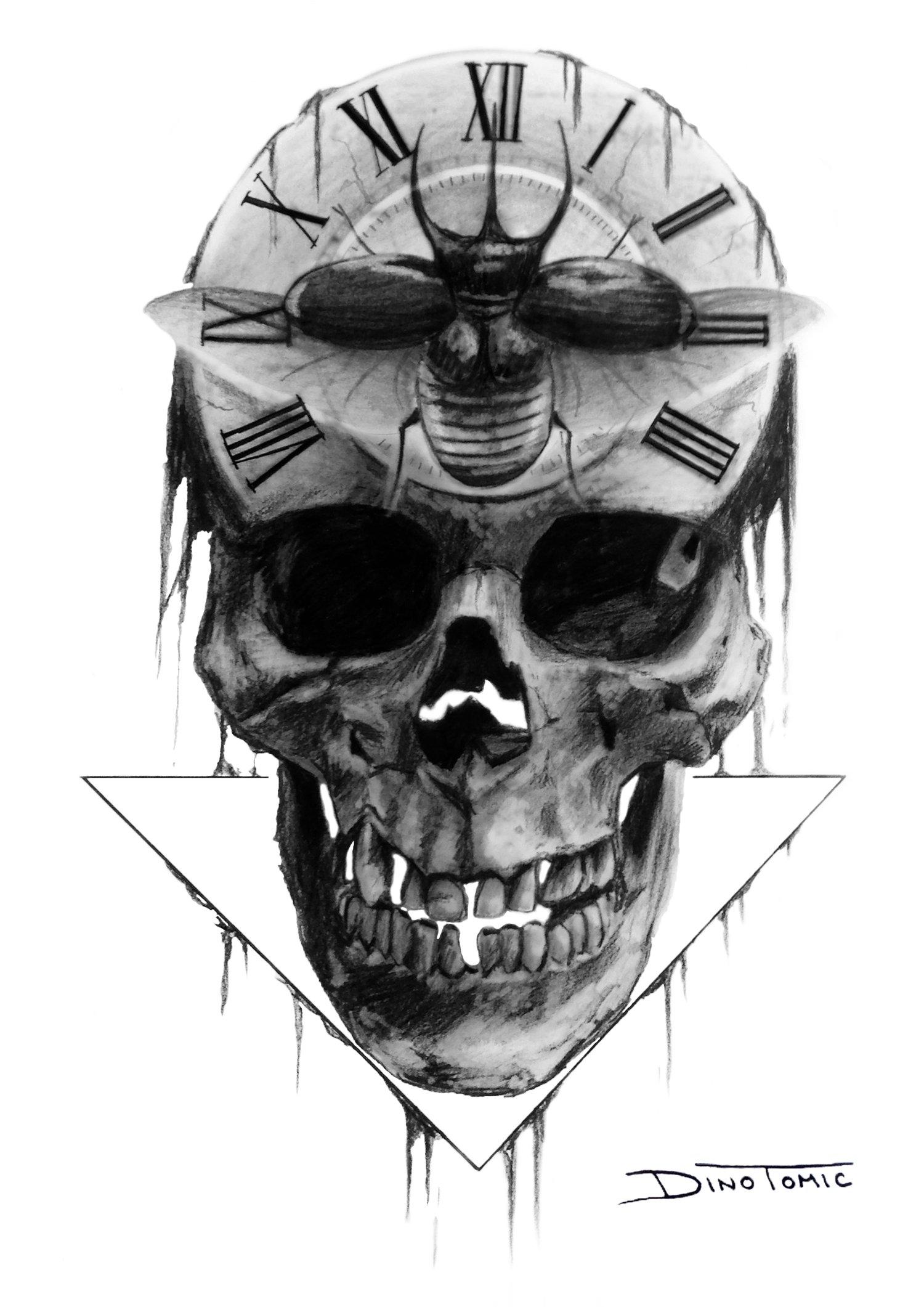 Image of #55 Skull