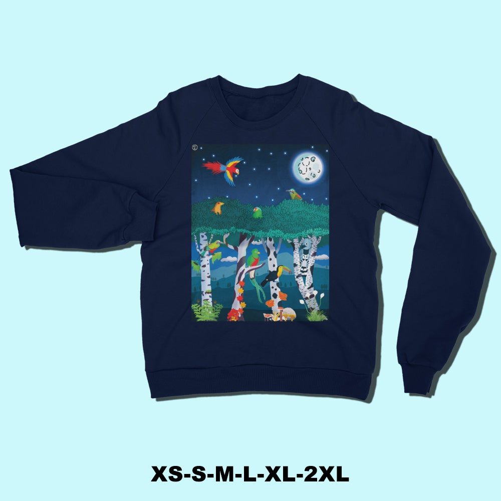 Image of Visitors to the Pacific Northwest Sweatshirt