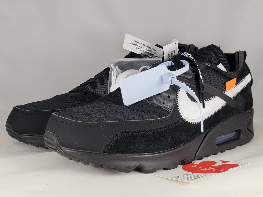 Image of Nike Air Max 90 Off-White Black