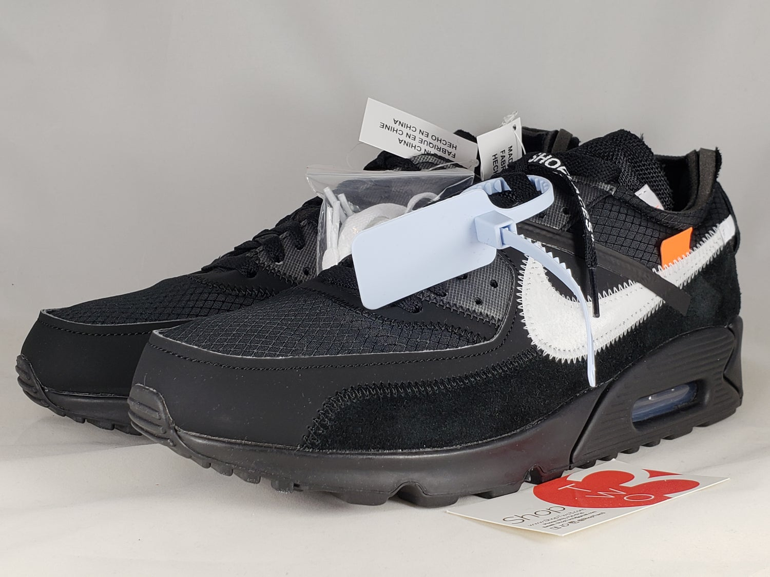 check out 03760 f17a9 Nike Air Max 90 Off-White Black
