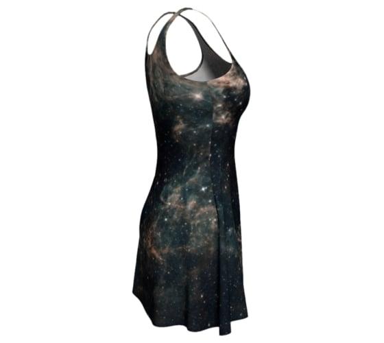 Image of Galactic skater dress