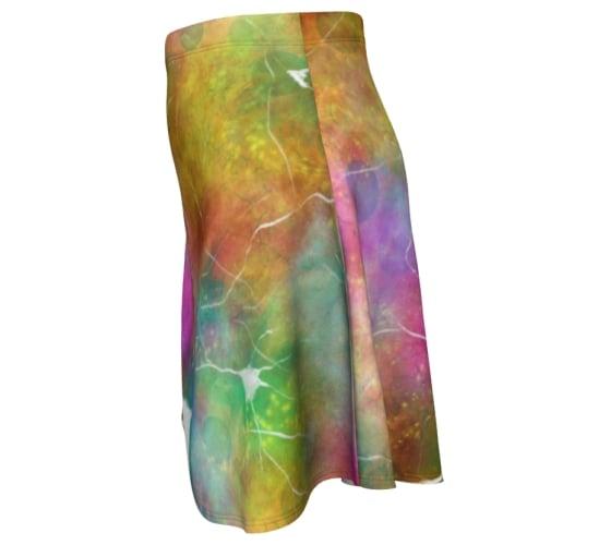 Image of Neuron skater skirt