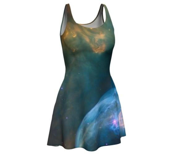 Image of Bubble Nebula skater dress