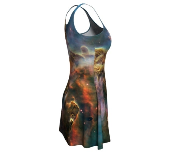 Image of Carina nebula skater dress
