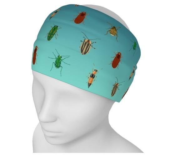 Image of Beetle yoga headband
