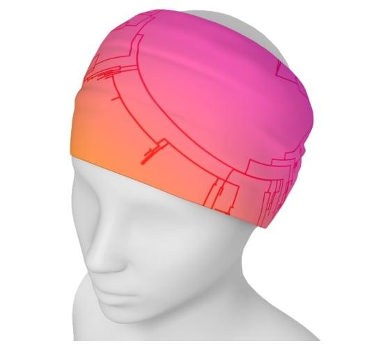 Image of Circular phylogeny yoga headband