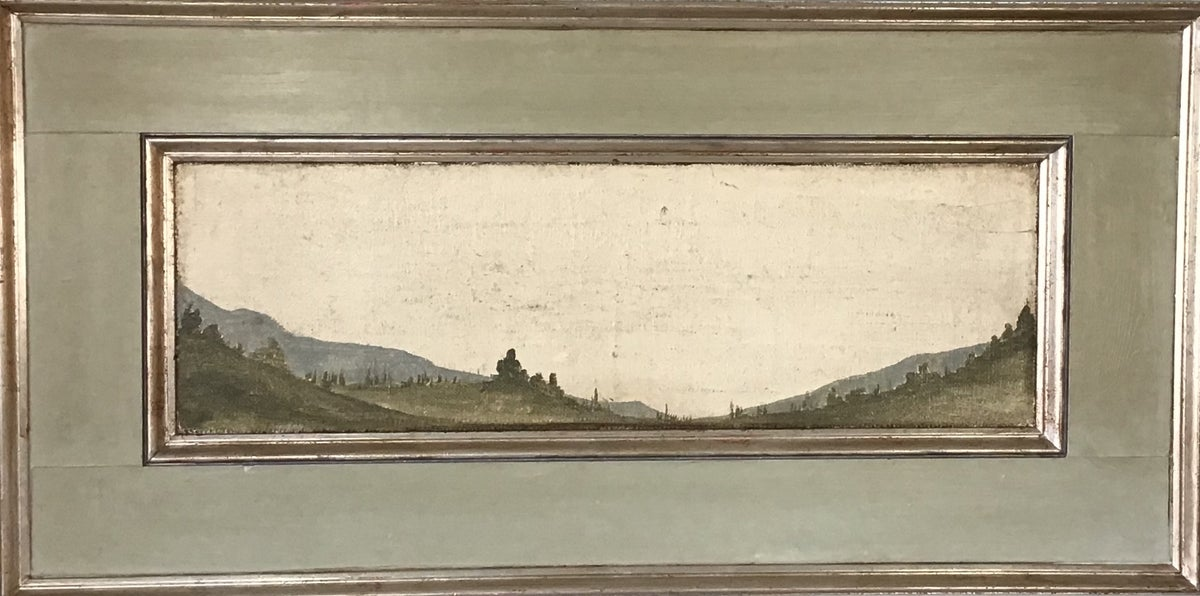 Image of TUSCAN Landscape GREEN 24x48