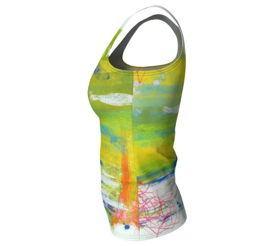 Image of Abstract workout tank top