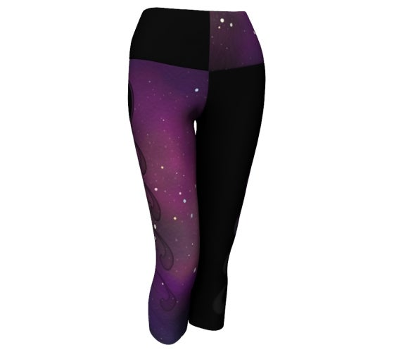Image of Fluid dynamics galaxy yoga capri