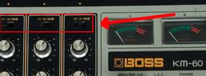 Image of KM-60 Input attenuator switch (New, Old Stock)