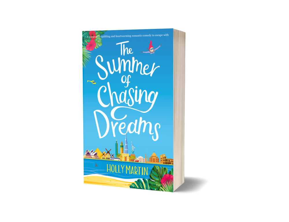 Image of Signed paperback of The Summer of Chasing Dreams.