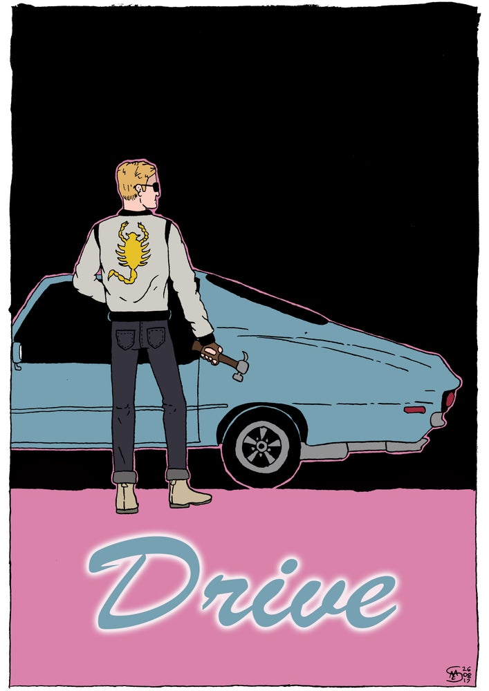 Image of Drive A3 Print
