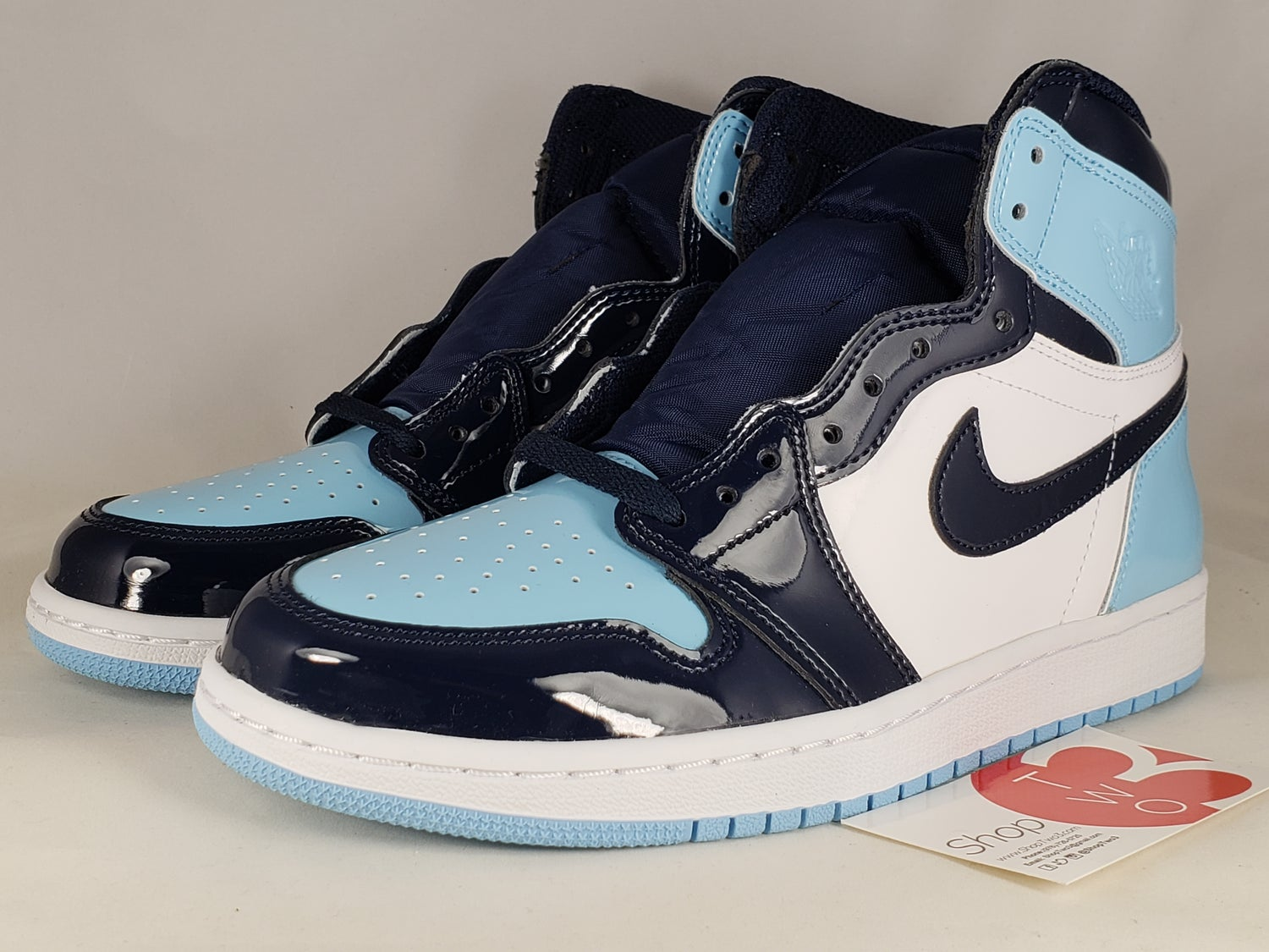Image of Air Jordan 1 Retro High Blue Chill